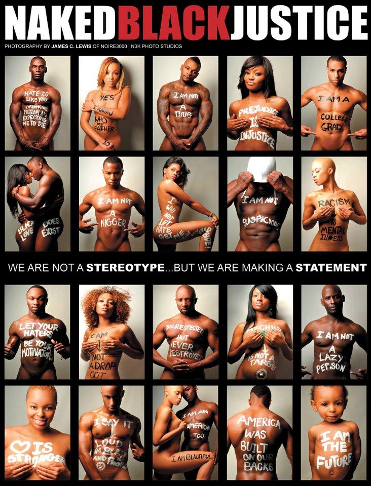 Naked Black Justice