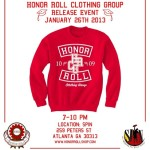 Lip Service: Honor Roll Clothing Group Release Event