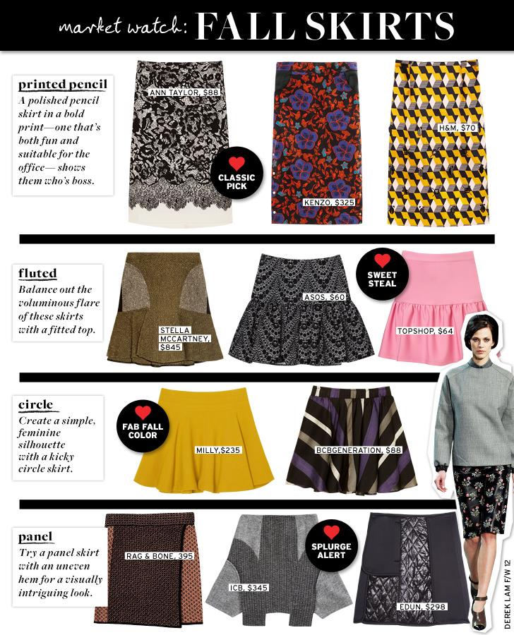 WWW fall skirts