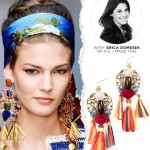 DIY: Runway-Insipred Raffia Earrings