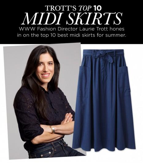 WWW Midi Skirts