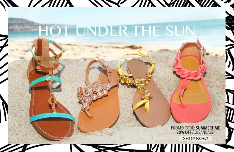 LS sandals Sale