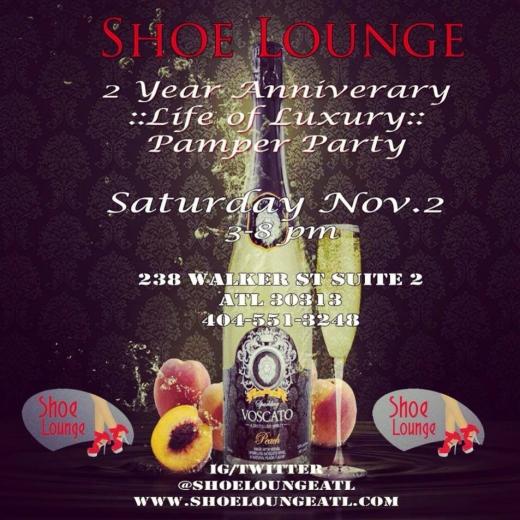 Shoe Lounge Anniversary