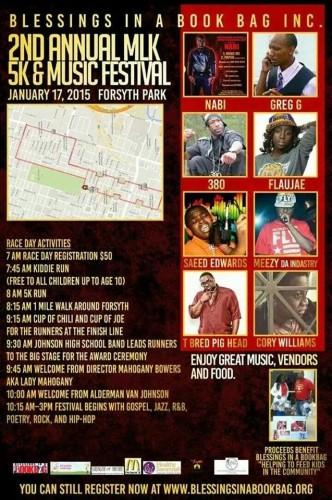 MLK 5K and Music Festival