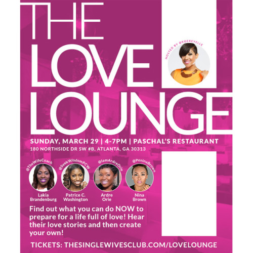 the love lounge flyer