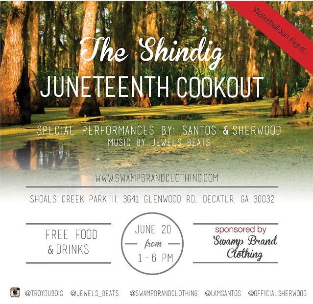 Lip Service: SBC Juneteenth Cookout